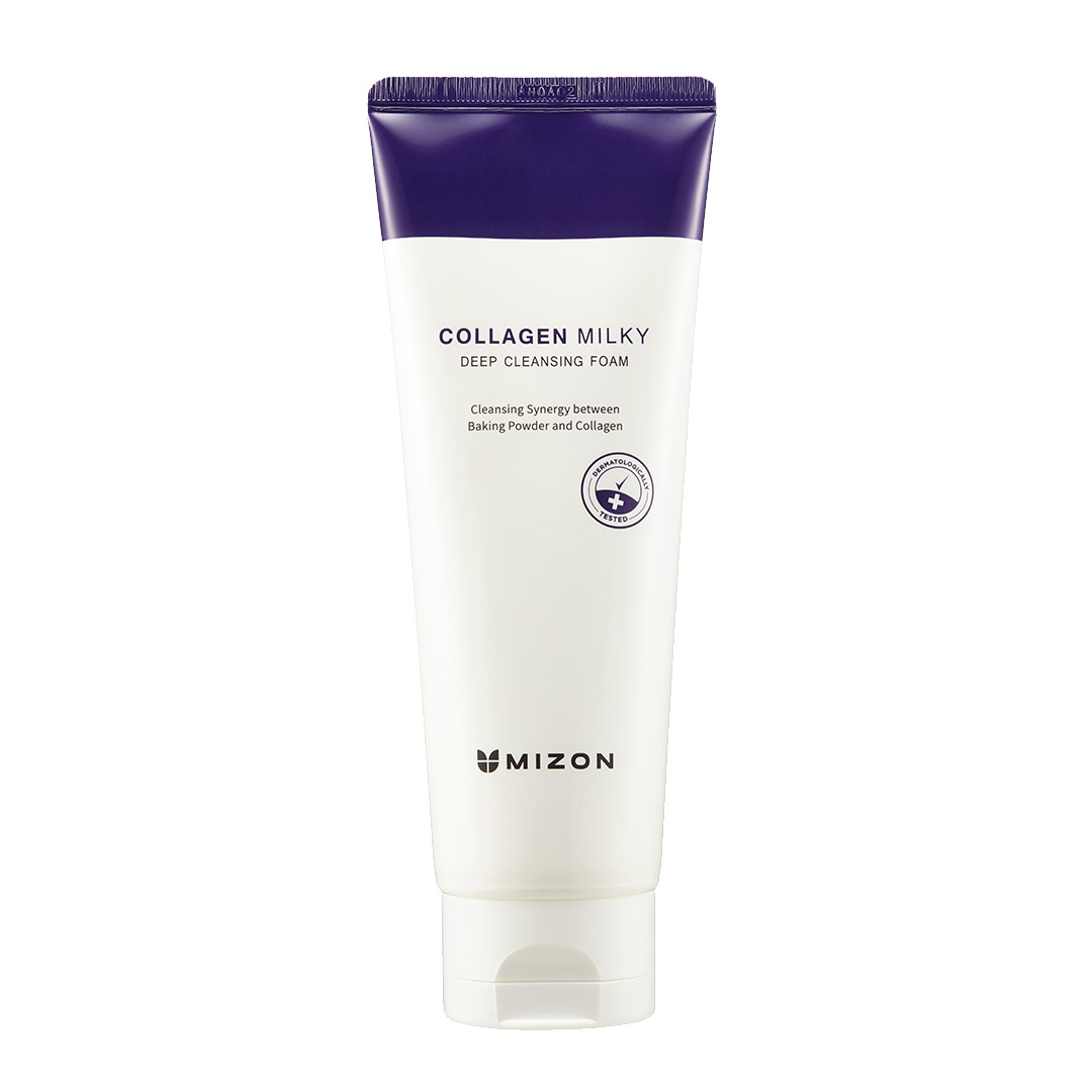 MIZON COLLAGEN MILKY DEEP CLEANSING FOAM